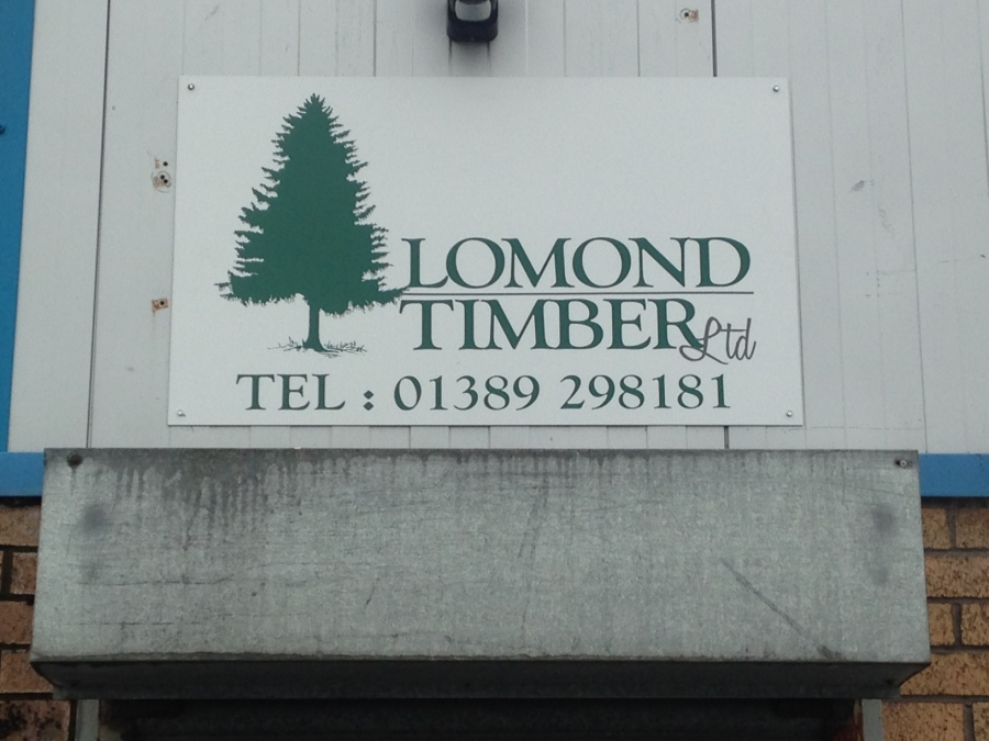 New sign for Lomond Timber Ltd