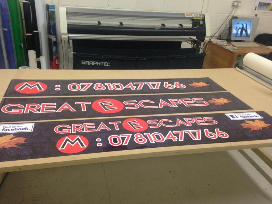 Large Format Digital Printers - Great E scapes - Lomond Branding