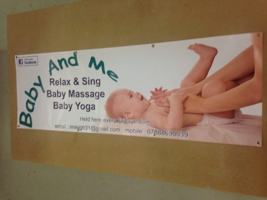 Banner printed for Baby and Me - Lomond Branding