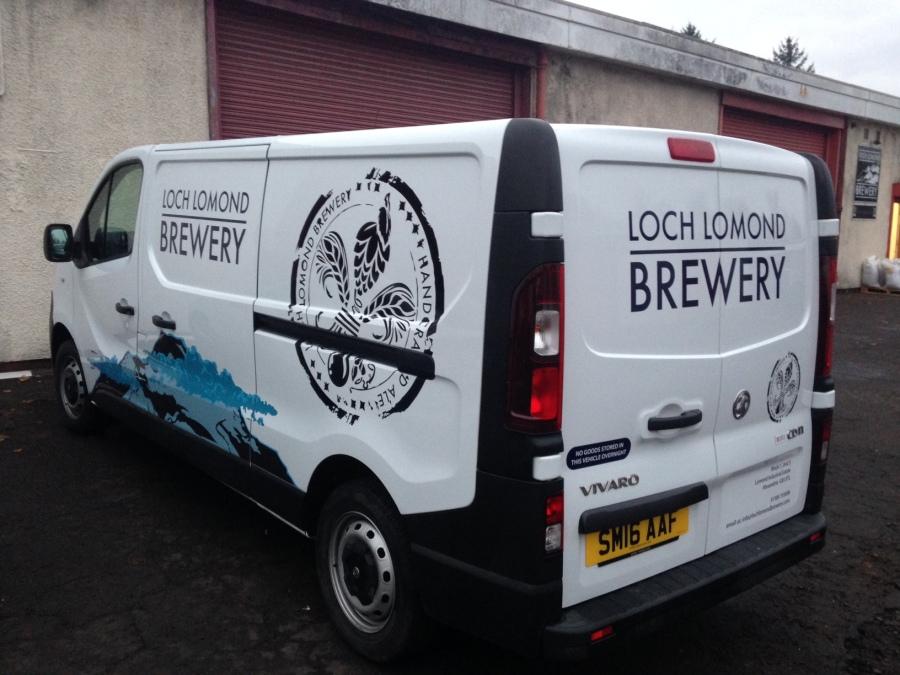 Loch Lomond Brewery Van